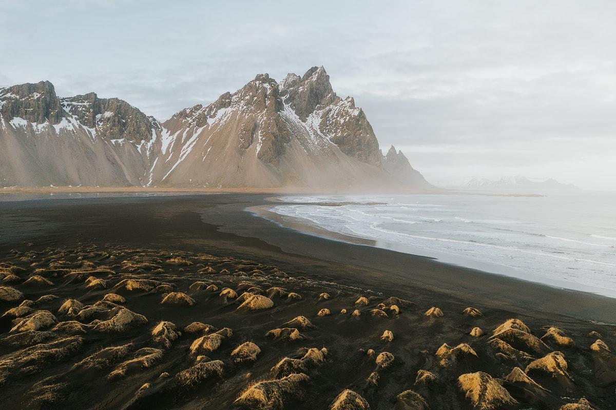 Iceland, Vestrahorn Drone - Renee Roaming