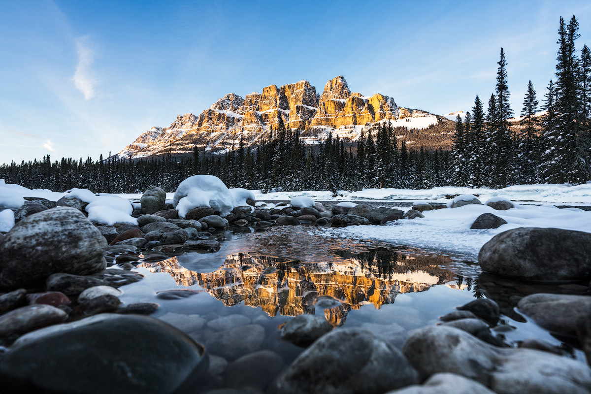 9 Best Winter Adventures in Banff Canadia - Castle Mountain Renee Roaming