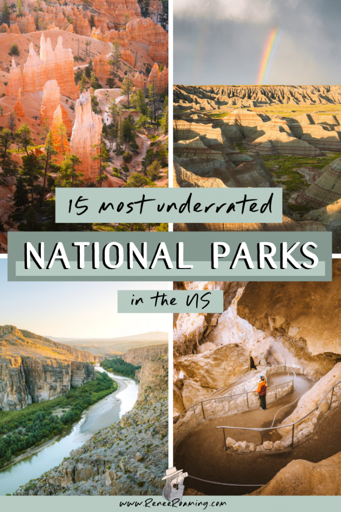15 Most Underrated National Parks in the US