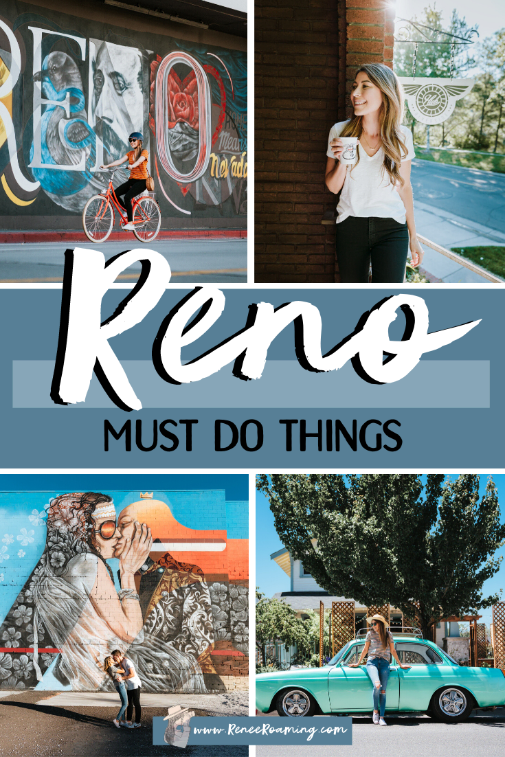 I always thought Reno was purely just casinos and desert, and for a long time it honestly wasn't on my adventure radar. Well, I was VERY wrong! It turns out Reno is Nevada's best kept secret and it will continually surprise you with its vibrant and hip culture. Plus, who wouldn't want to visit nearby (beautiful!) Lake Tahoe?! So get ready all you adventurous travelers out there, in this post I'll be sharing the absolute best things to do in Reno Tahoe. #tahoe #reno #nevada #usa #summer