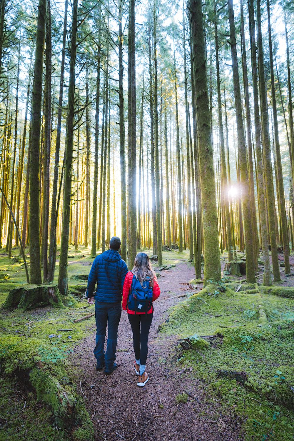 Couples Adventure Getaway to British ColumbiaGolden Ears Provincial Park 7