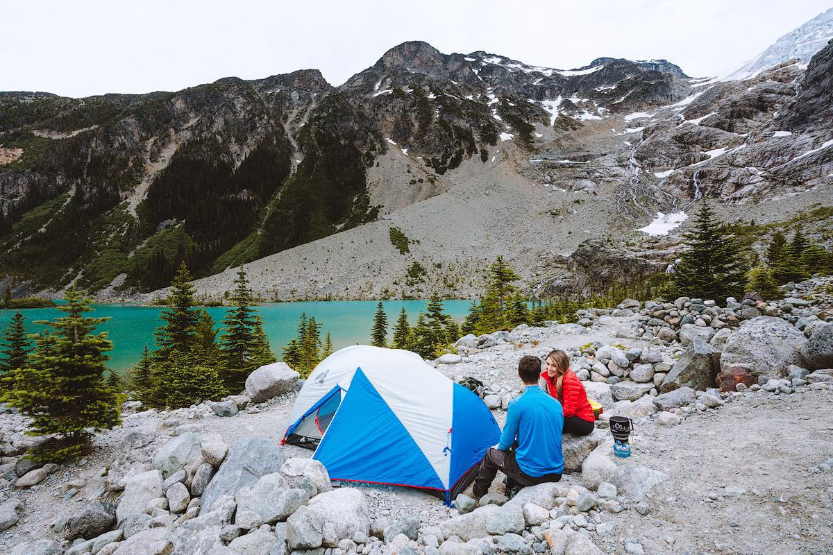 Couples Adventure Getaway to British ColumbiaJoffre Lakes 3