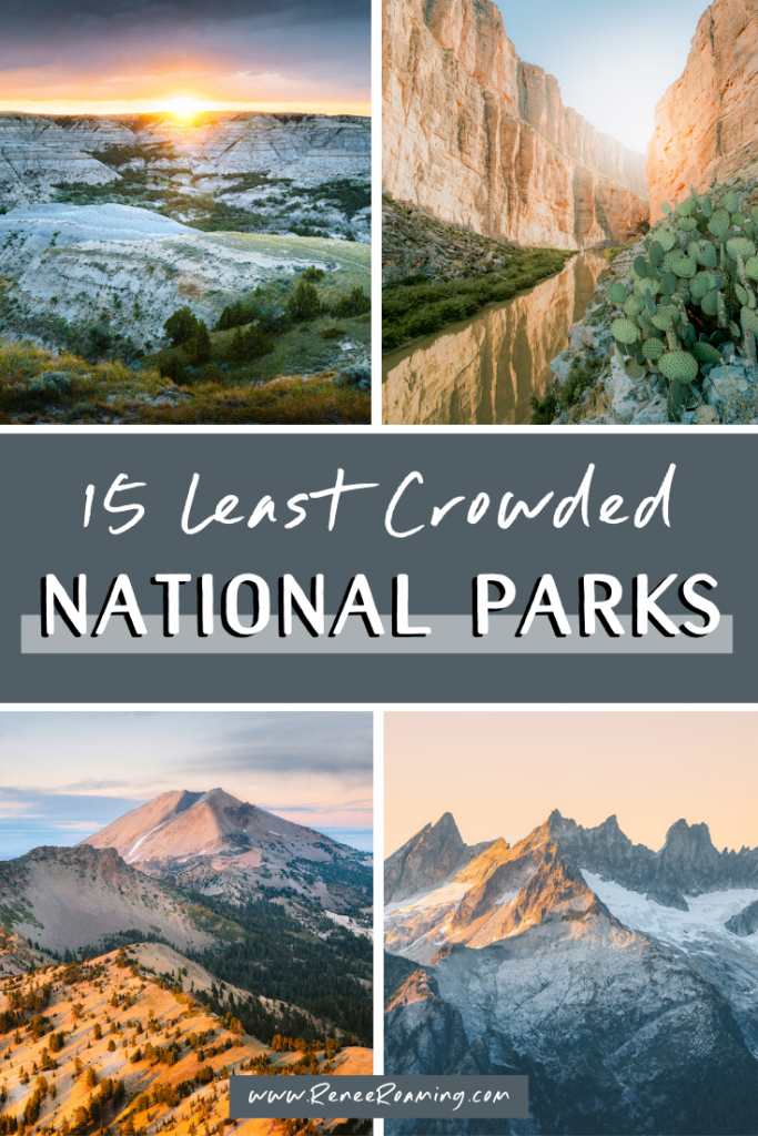 15 Least Crowded National Parks in the US