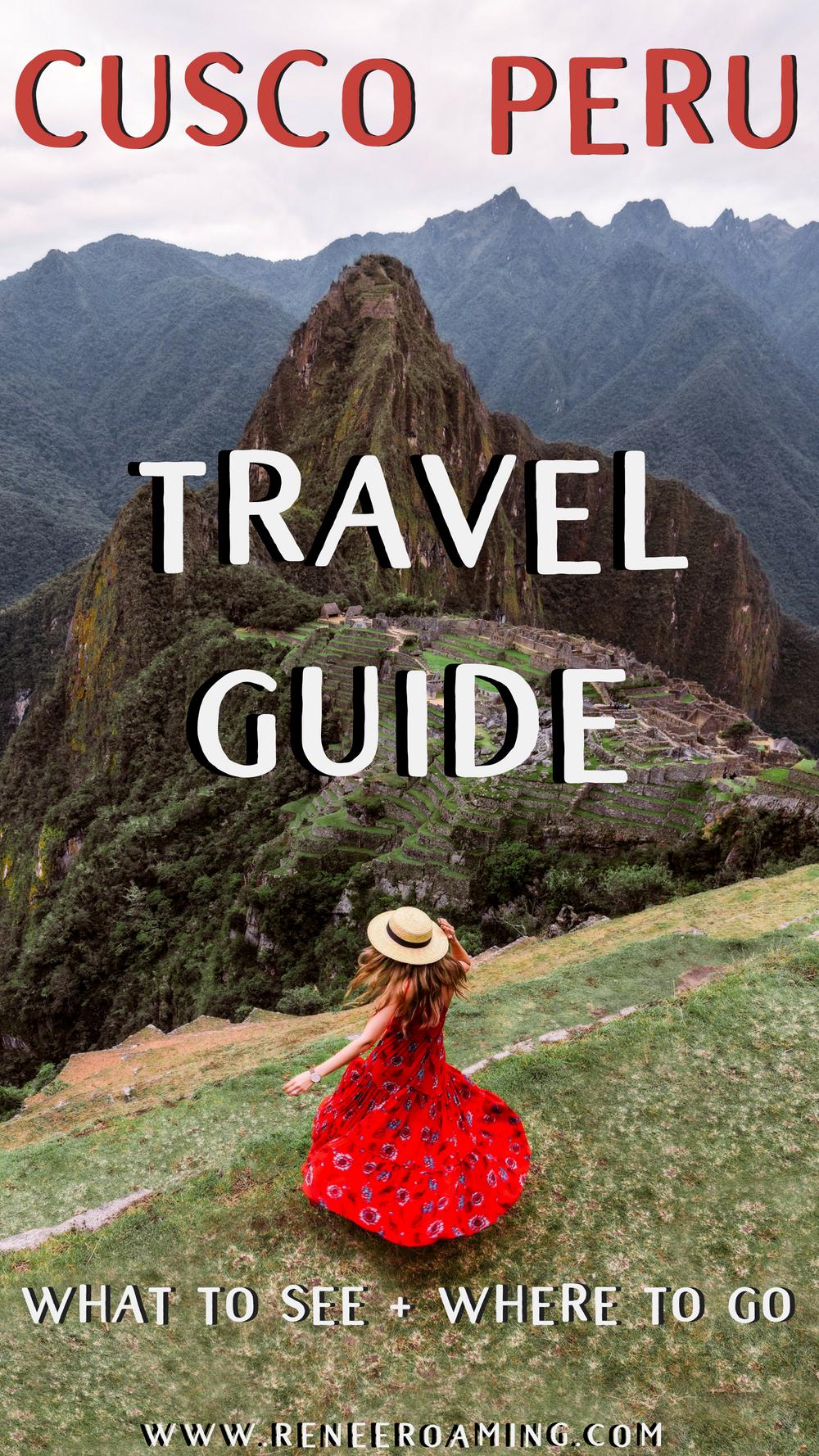 Best Things To Do In & Around Cusco Peru