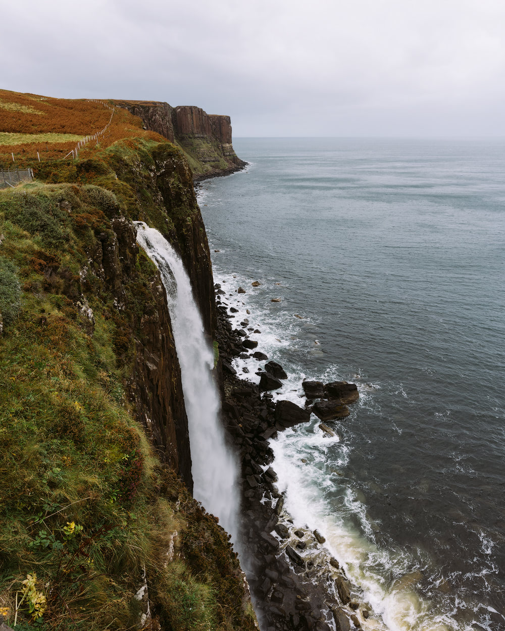 Epic Isle of Skye Photography Locations Renee Roaming Mealt Falls