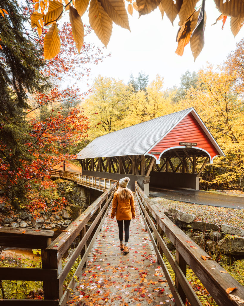 New England Fall Road Trip Ultimate Itinerary Renee Roaming Flume Gorge 4 White Mountains New Hampshire