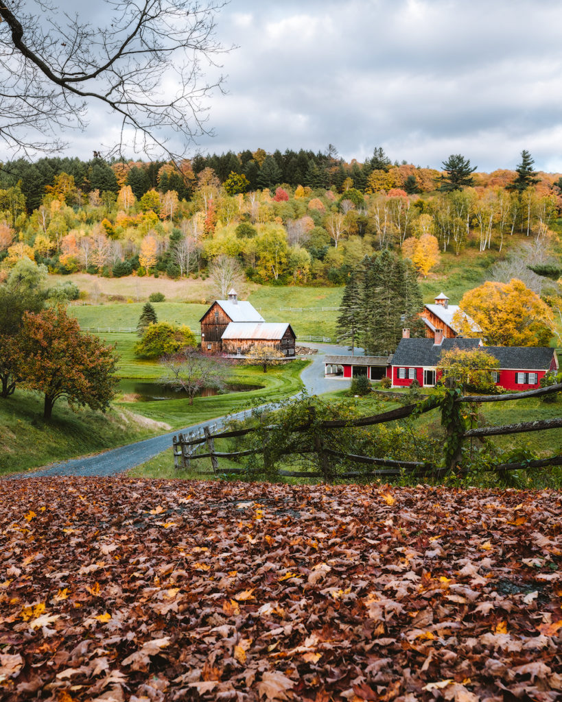 New England Fall Road Trip Ultimate Itinerary Renee Roaming Sleepy Hollow Farm Vermont