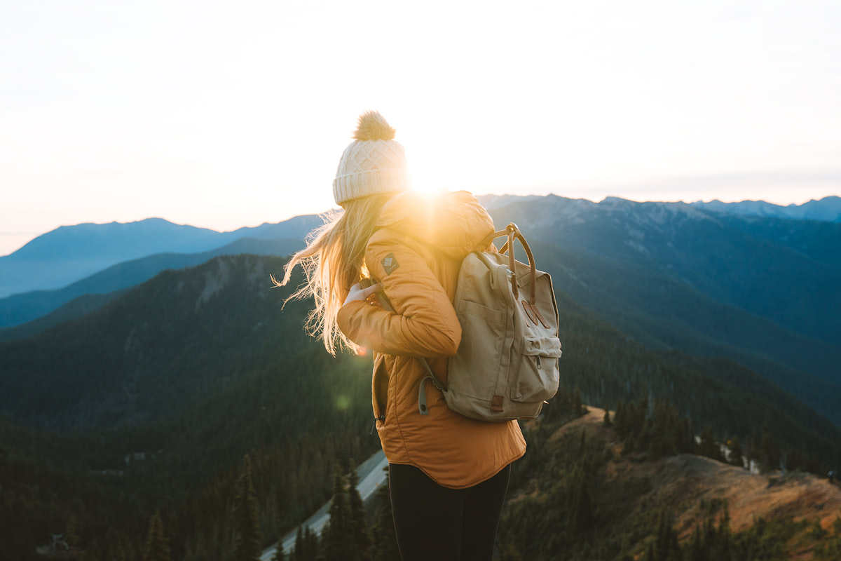 Olympic National Park Adventure Getaway 24 Hour Itinerary from Seattle Renee Roaming Hurricane Ridge Sunrise 5