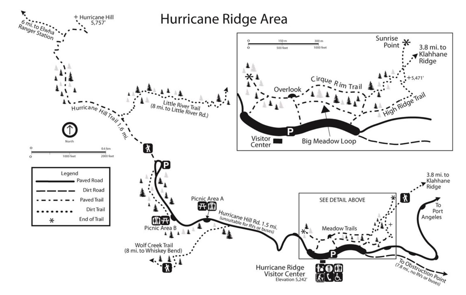 Olympic National Park Adventure Getaway 24 Hour Itinerary from Seattle Renee Roaming Map Hurricane Ridge