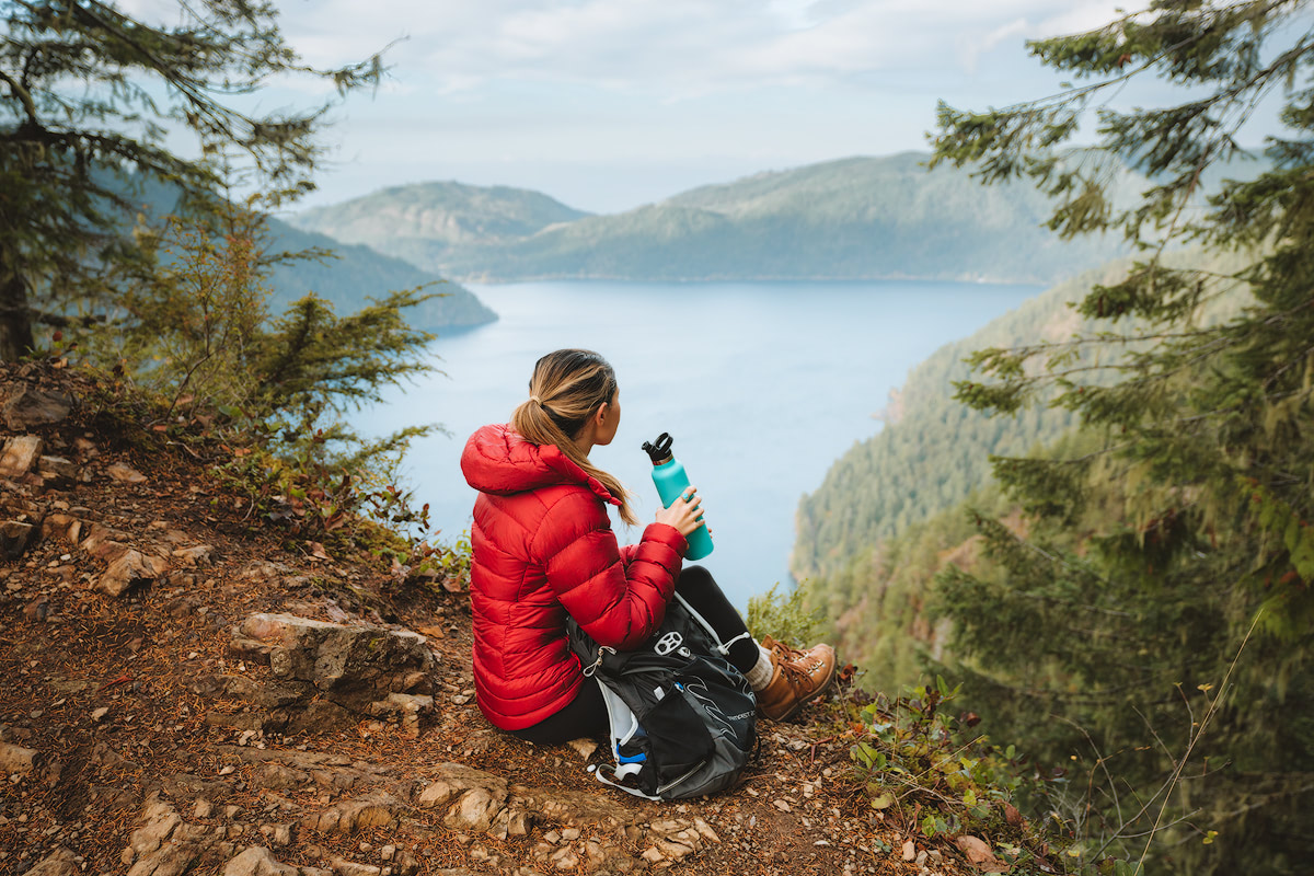 Olympic National Park Adventure Getaway 24 Hour Itinerary from Seattle Renee Roaming Mount Storm King Hike 2
