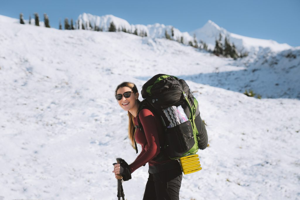 Ultimate Guide to Winter Hiking and Camping - responsible recreation and leave no trace principles