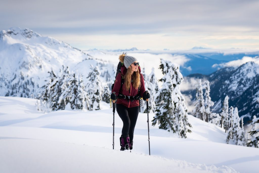 Ultimate Guide to Winter Hiking and Camping - trekking poles for winter hiking