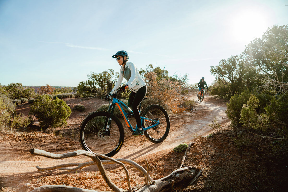 Experiencing Desert Climbing and Biking for the First Time Moab Rock Climbing with Backcountry Dead Horse Point Biking 4