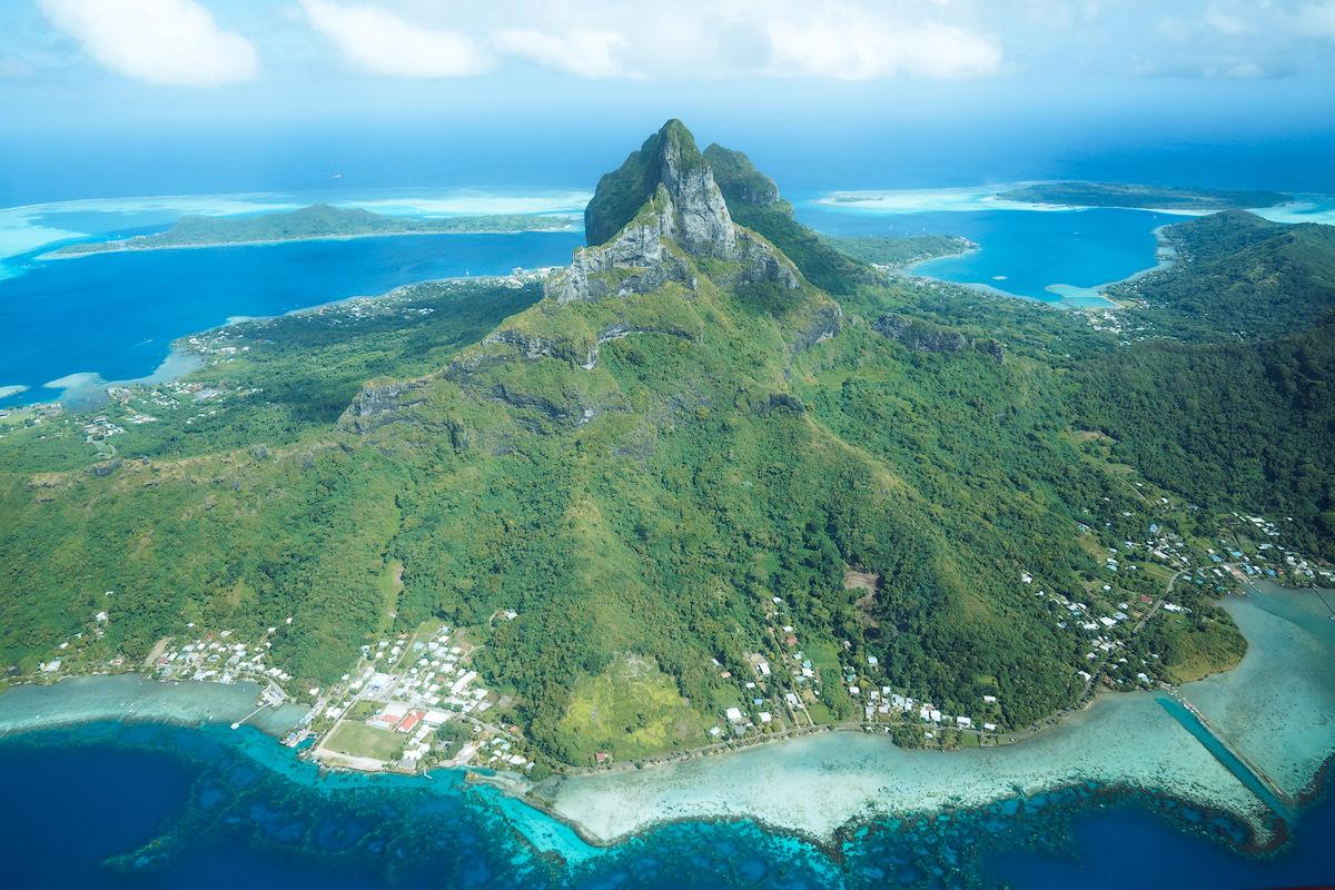 The Islands of Tahiti Le Tahaa Island Resort and Spa Renee Roaming Seaplane 1