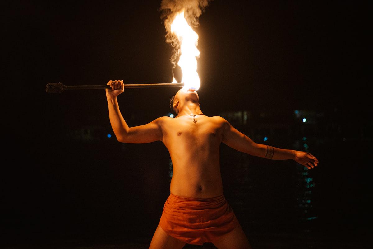 The Islands of Tahiti Moorea Hilton Polynesian Performance