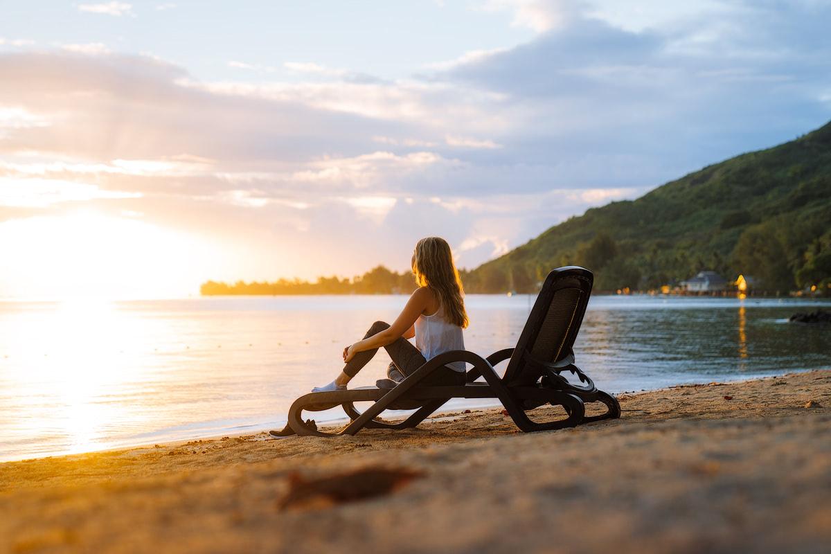 The Islands of Tahiti Moorea Manava Resort Sunrise 2