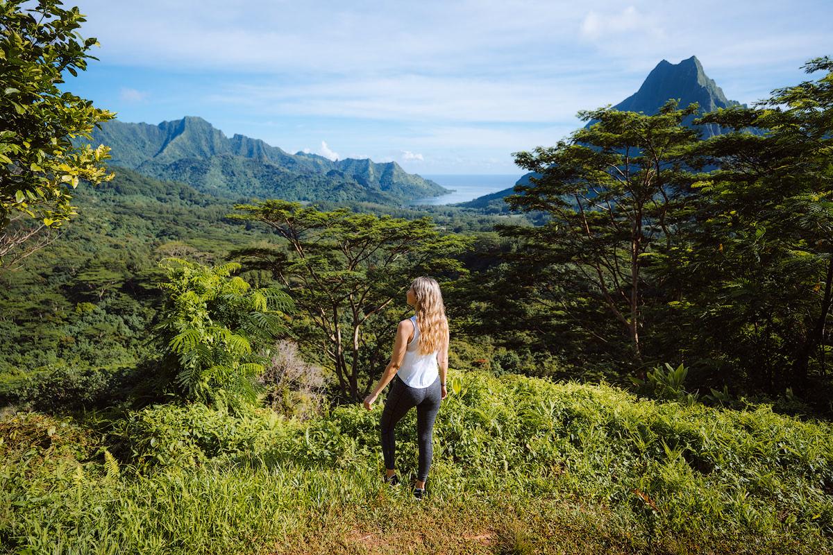 The Islands of Tahiti Moorea Three Coconuts Trail Hike