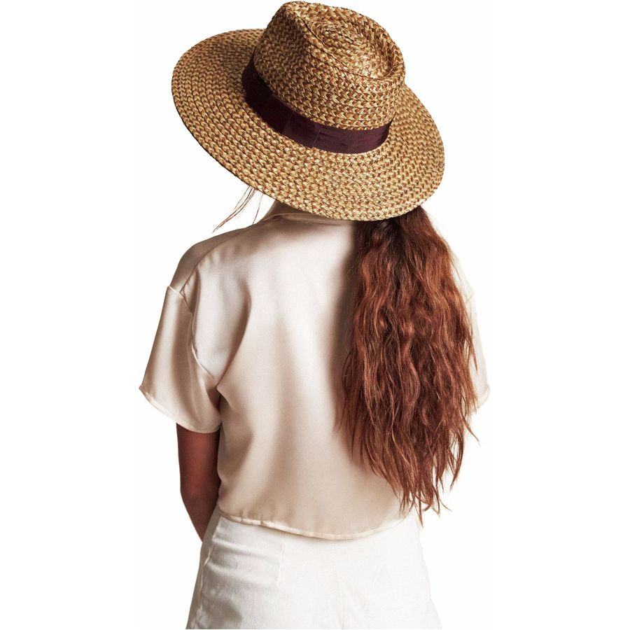 What to Pack for a Tropical Vacation to The Islands of Tahiti Brixton Joanna Hat