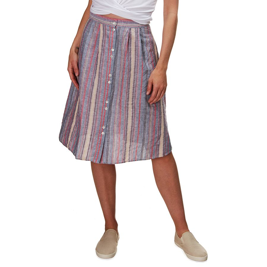 What to Pack for a Tropical Vacation to The Islands of Tahiti Dylan Serape Midi Skirt