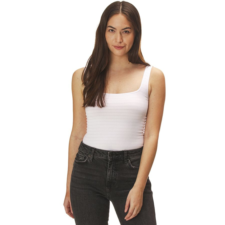 What to Pack for a Tropical Vacation to The Islands of Tahiti Free People Sqaure One Seamless Cami Tank Top