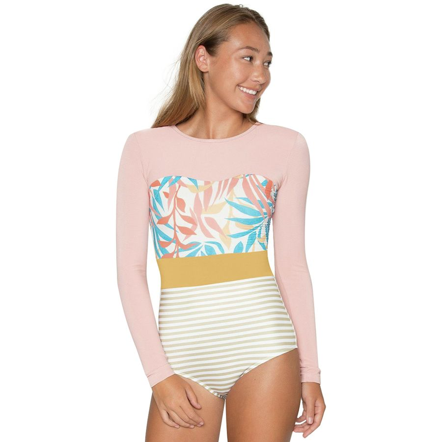 What to Pack for a Tropical Vacation to The Islands of Tahiti Seea Swimwear Hermosa Long Sleeve Surf Suit