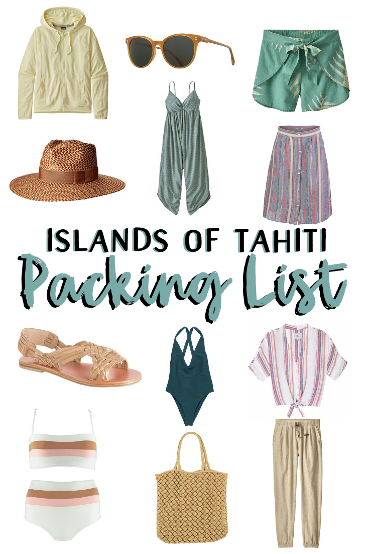 What to Pack for a Tropical Vacation to The Islands of Tahiti
