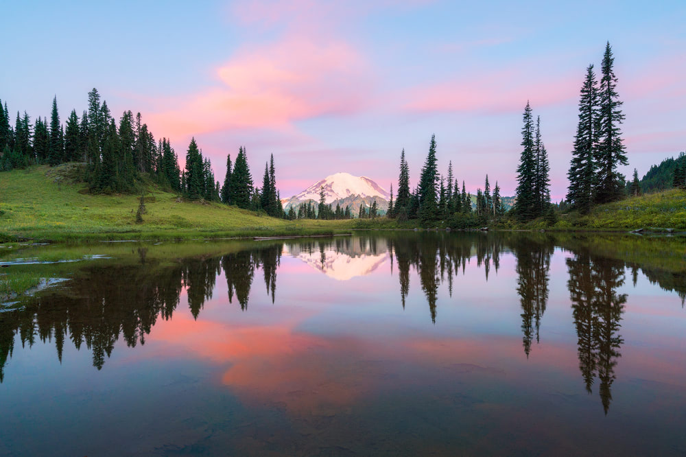 Little Tipsoo Lake