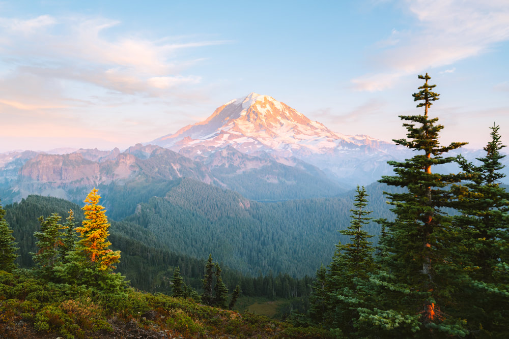 Mount Rainier National Park Guide - Everything You Need to Know - Renee Roaming - Tolmie Peak