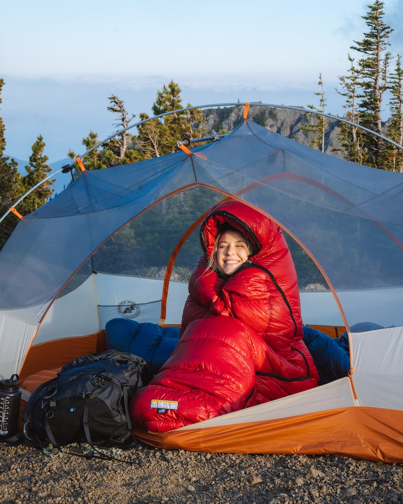 10 Tips for Getting a Good Night's Sleep when Backcountry Camping - Sleeping Bag