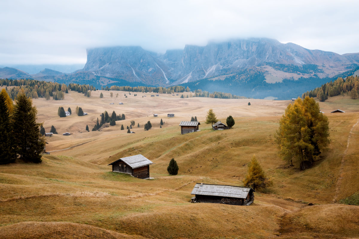Plan the Ultimate Fall Road Trip to the Dolomites of Italy - Alpe De Siusi Photo Location