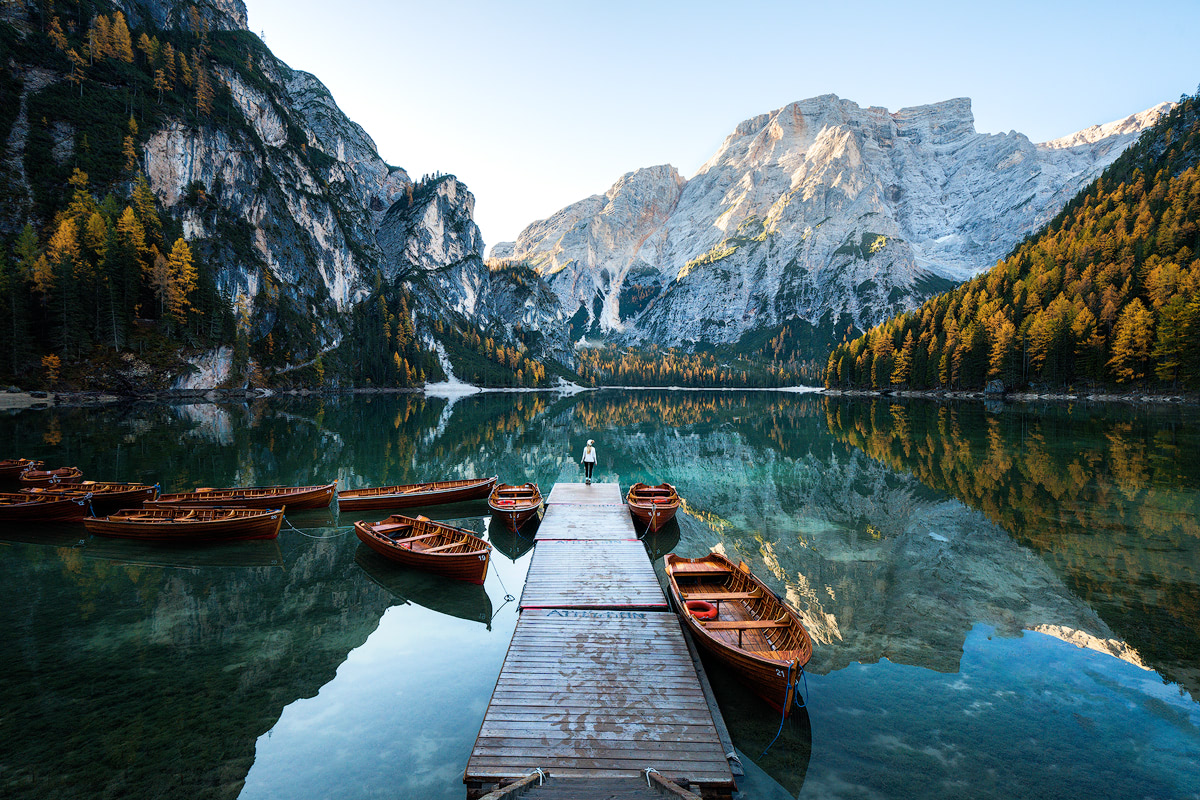 Plan the Ultimate Fall Road Trip to the Dolomites of Italy - Lago Di Braies