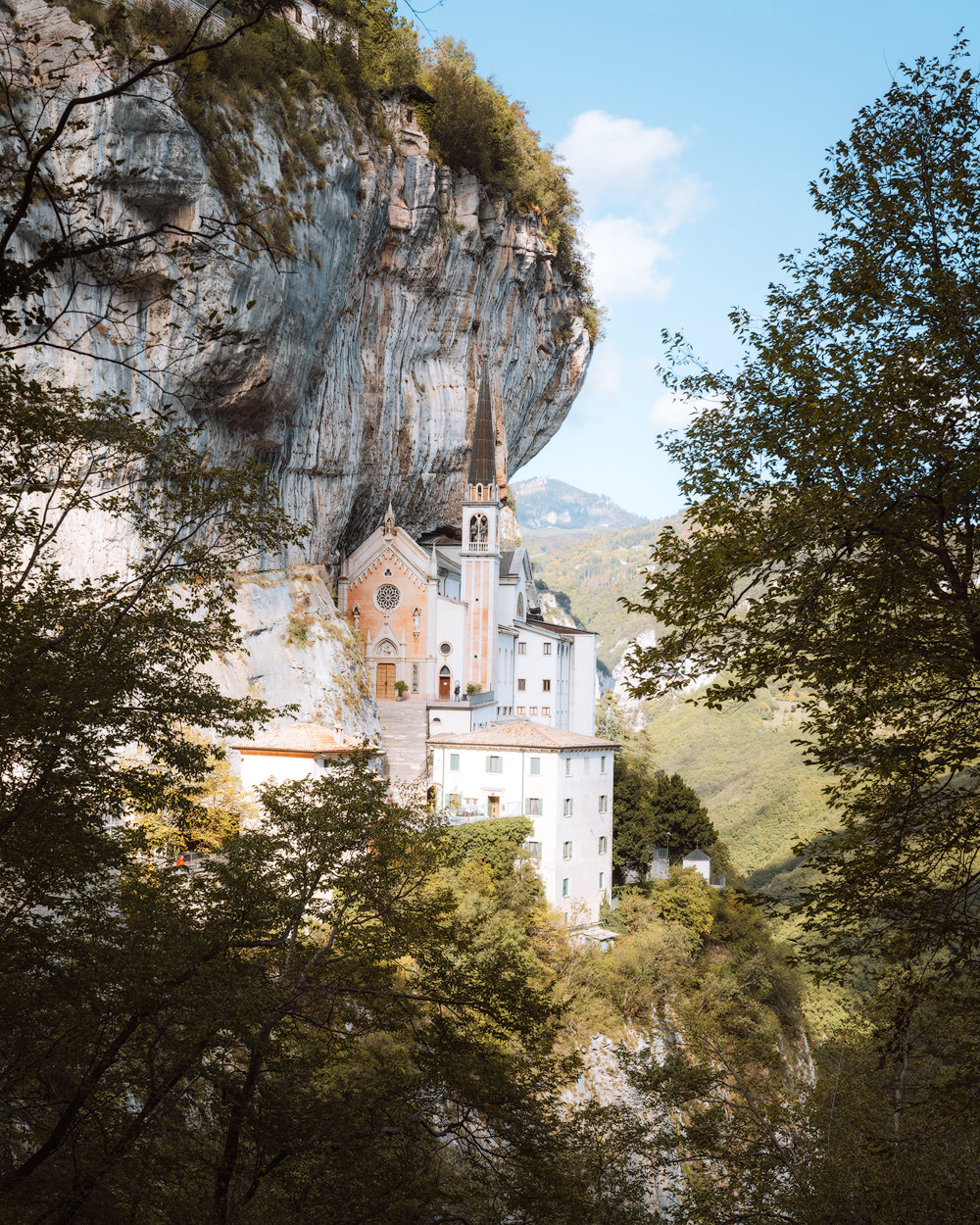 Plan the Ultimate Fall Road Trip to the Dolomites of Italy - Madonna Della Corona
