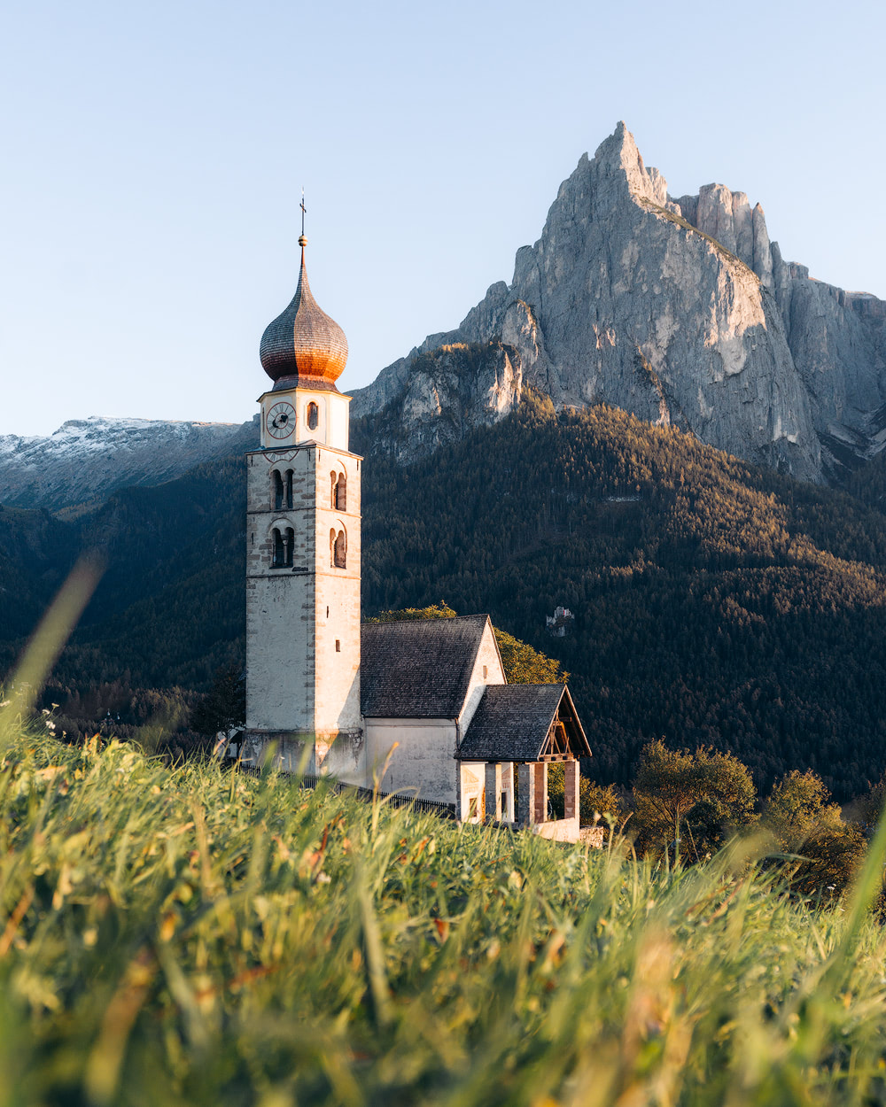 Plan the Ultimate Fall Road Trip to the Dolomites of Italy - St Valentin Church