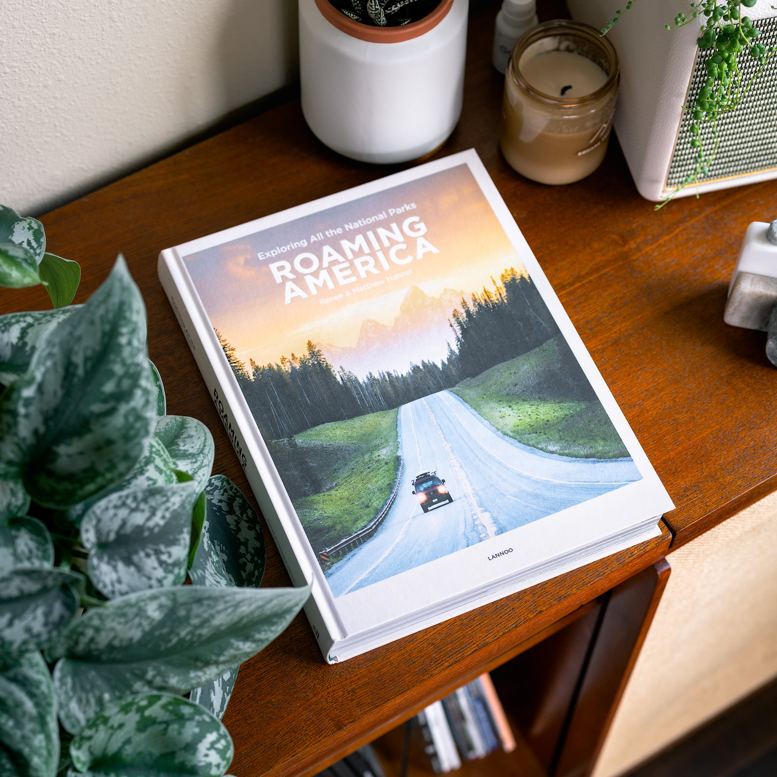 Roaming America Book - Exploring All The National Parks