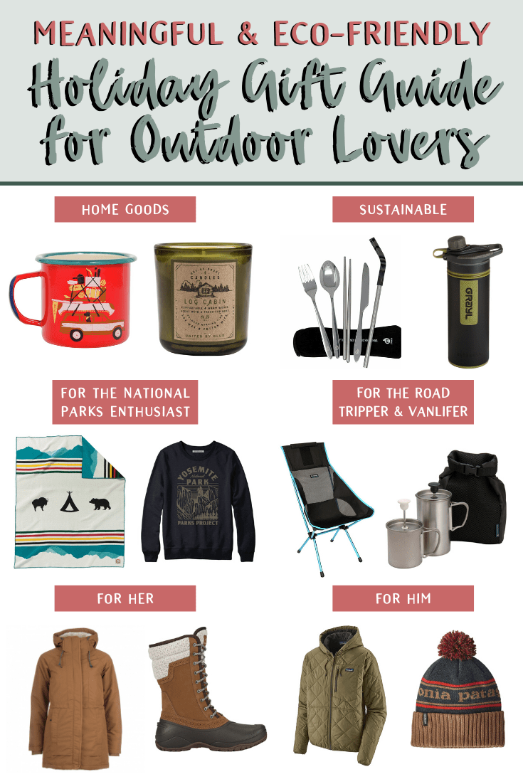 Meaningful Experiences and Eco-Friendly Gift Guide for Outdoor Lovers