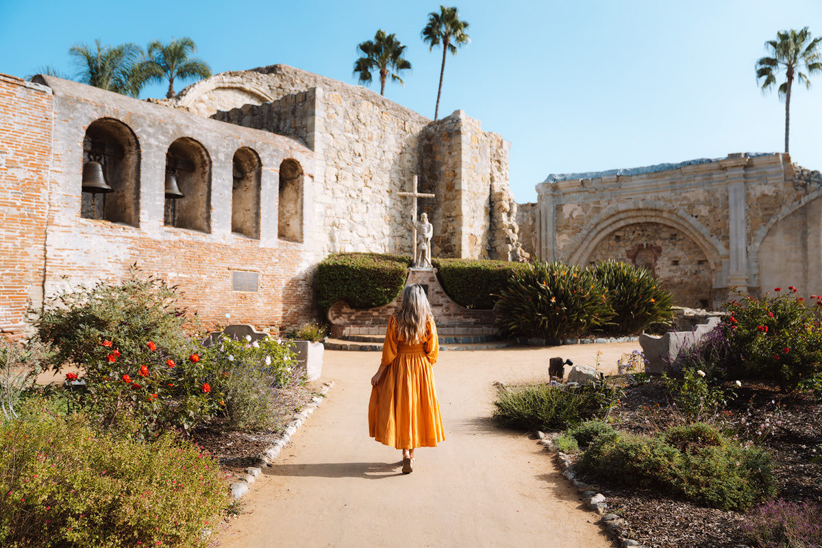 Orange County Travel Guide Everything You Need to Know- Mission San Juan Capistrano