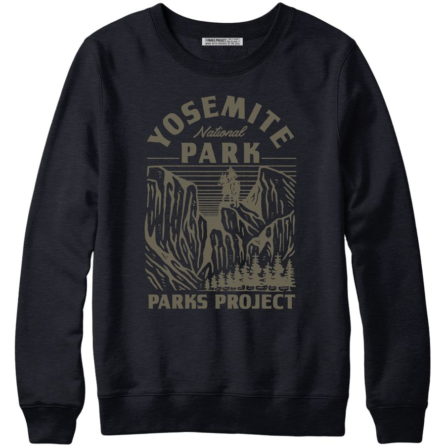 Yosemite Riders Crew Sweatshirt   Meaningful Experiences and Eco-Friendly Gift