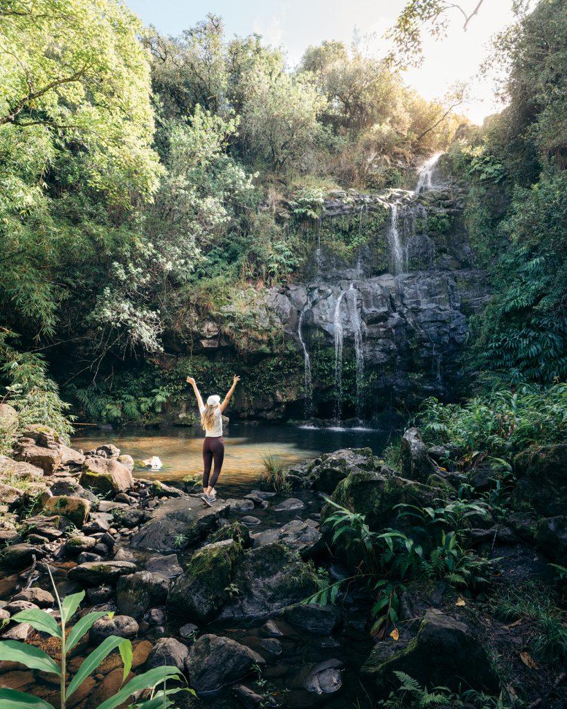 Plan an Incredible Trip to the Big Island of Hawaii - Waterfall