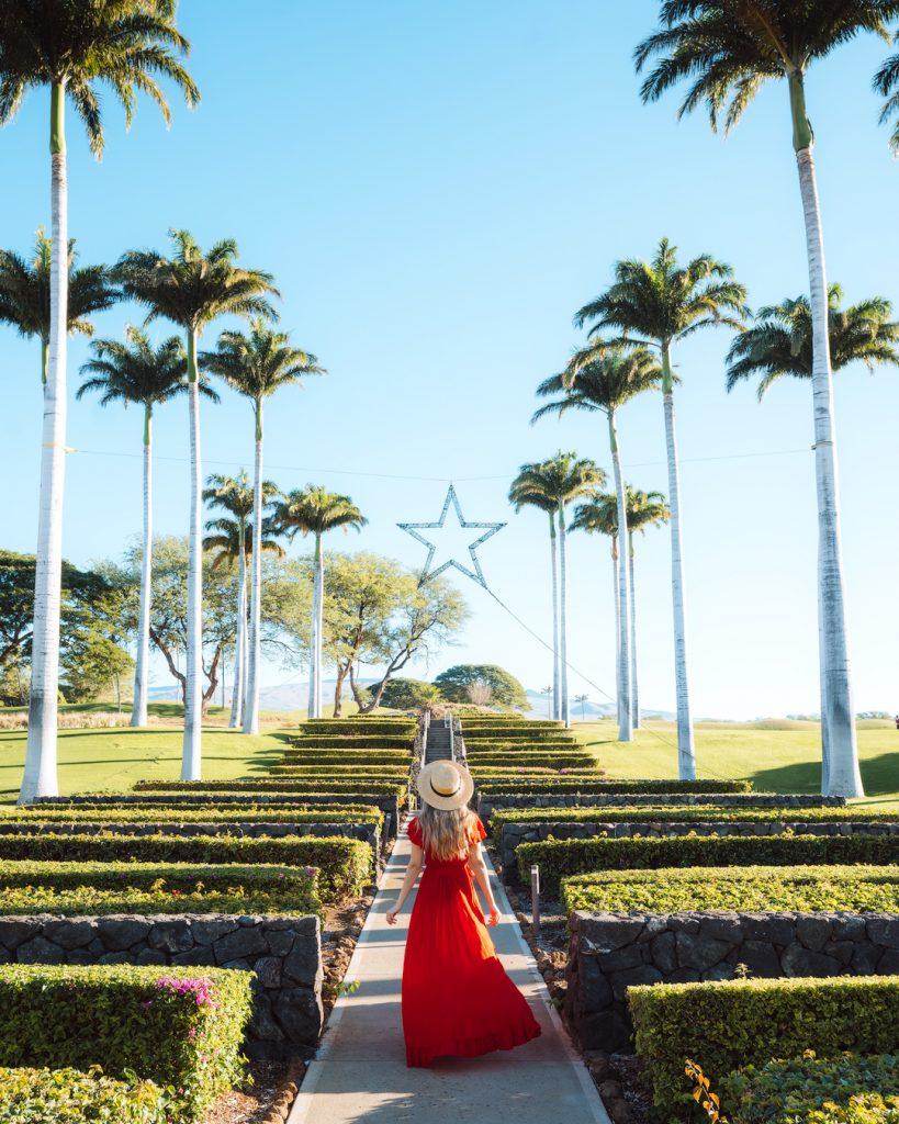 Plan an Incredible Trip to the Big Island of Hawaii - Westin Hapuna Beach Resort Entrance