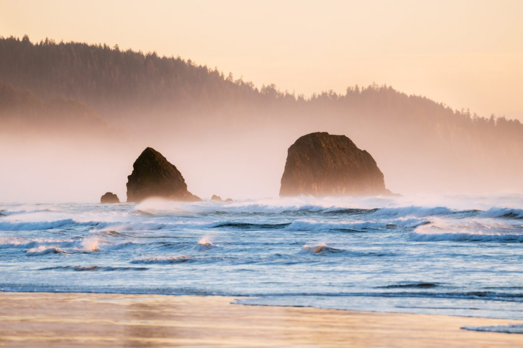 Scenic Oregon 7 Day Road Trip Exploring the Mountains and Coast- Cannon Beach