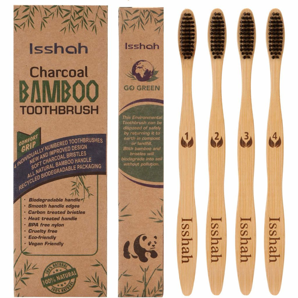 Eco Friendly Outdoor Hygiene - Bamboo Tooth Brush