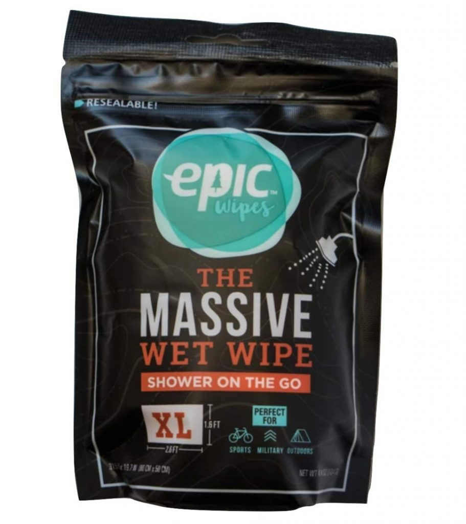 Eco Friendly Outdoor Hygiene - Epic Wipes