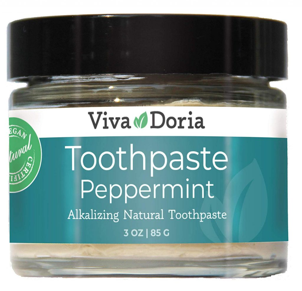 Eco Friendly Outdoor Hygiene - Tooth Paste Jar