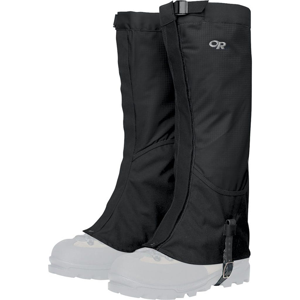 Snowshoe to Artist Point - Gear Guide - Outdoor Research Gaiters