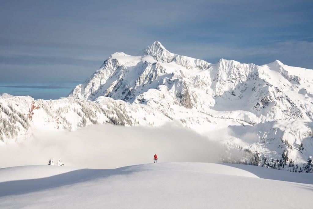 Snowshoe to Artist Point -Mount Shuksan