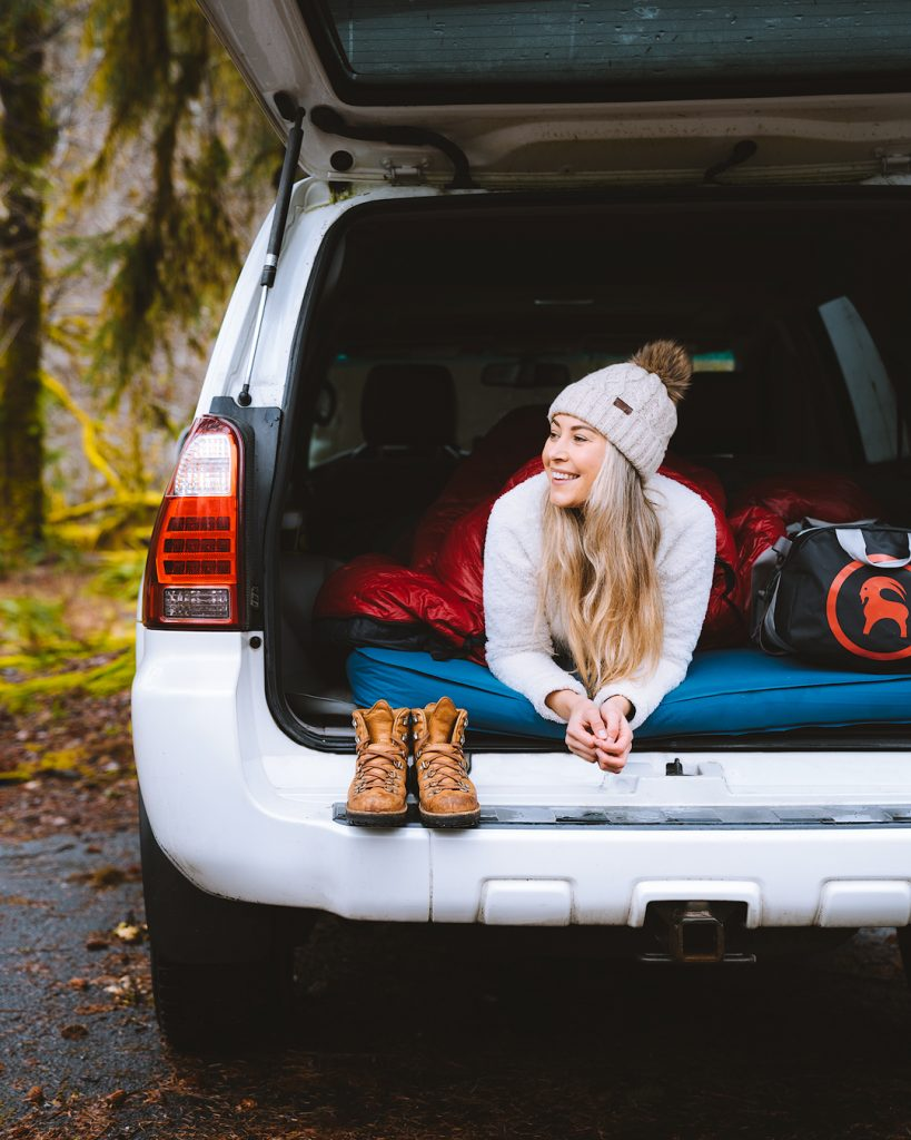 Top Tips for Sleeping In Your Car on Road Trips Toyota 4Runner - Renee Roaming