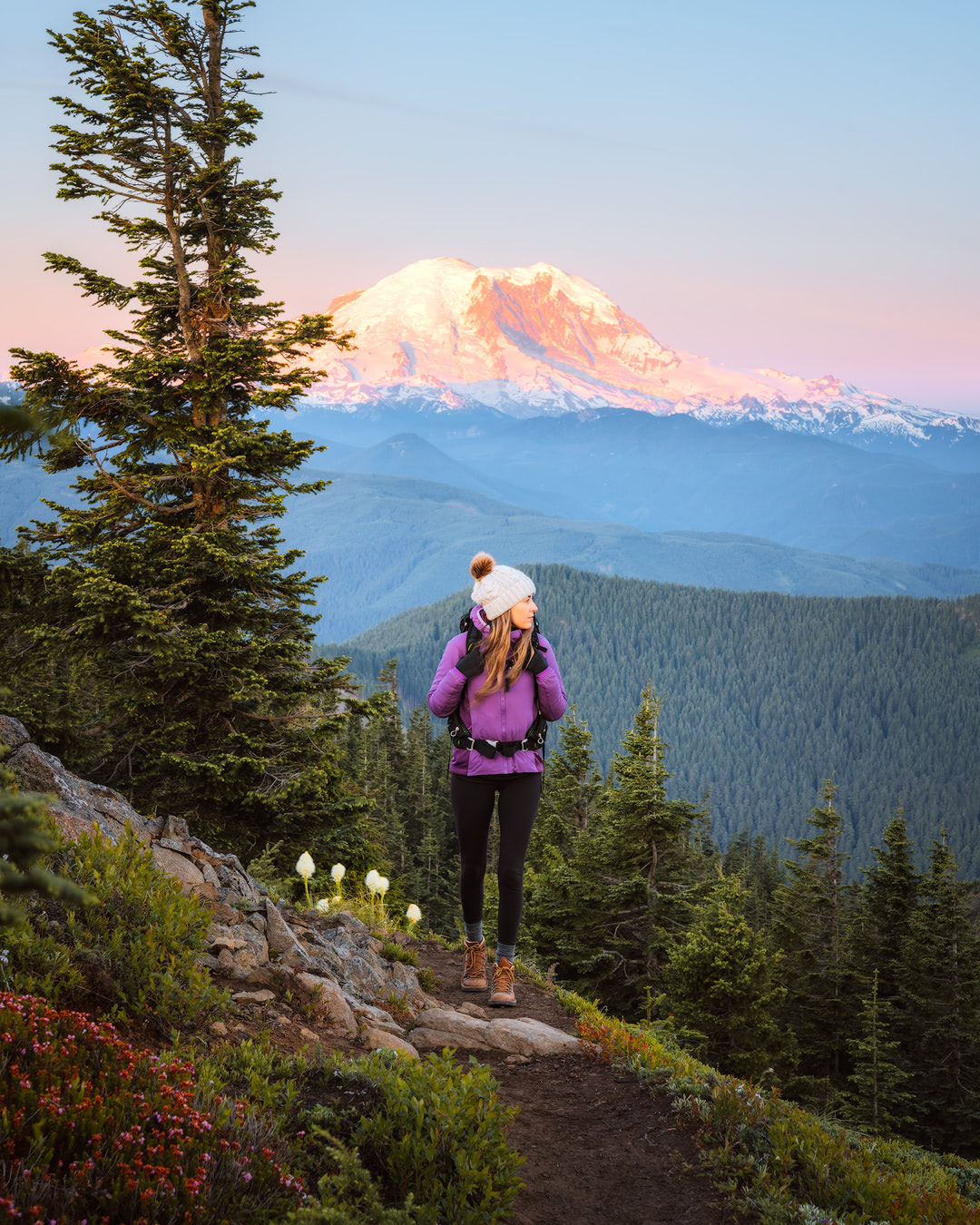 How To Get Over Your Fears of First Time Backcountry Camping - Mount Rainier