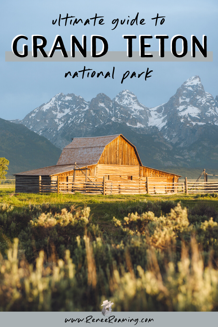 Grand Teton National Park is one of my favorite places on earth! It's home to insanely beautiful mountain peaks (including the Grand Teton itself sitting at 14,000 feet), abundant wildlife, world class hiking terrain, and picturesque landscapes everywhere you turn.Want to experience it for yourself? Keep reading for an in-depth guide on Grand Teton National Park and find out why it should be at the top of your bucket list!
