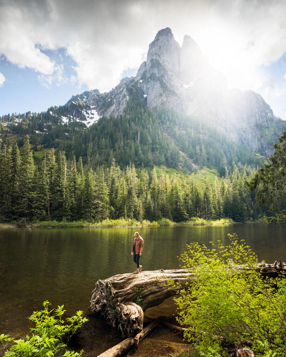 Beginner Friendly Hikes in Washington State - Barclay Lake