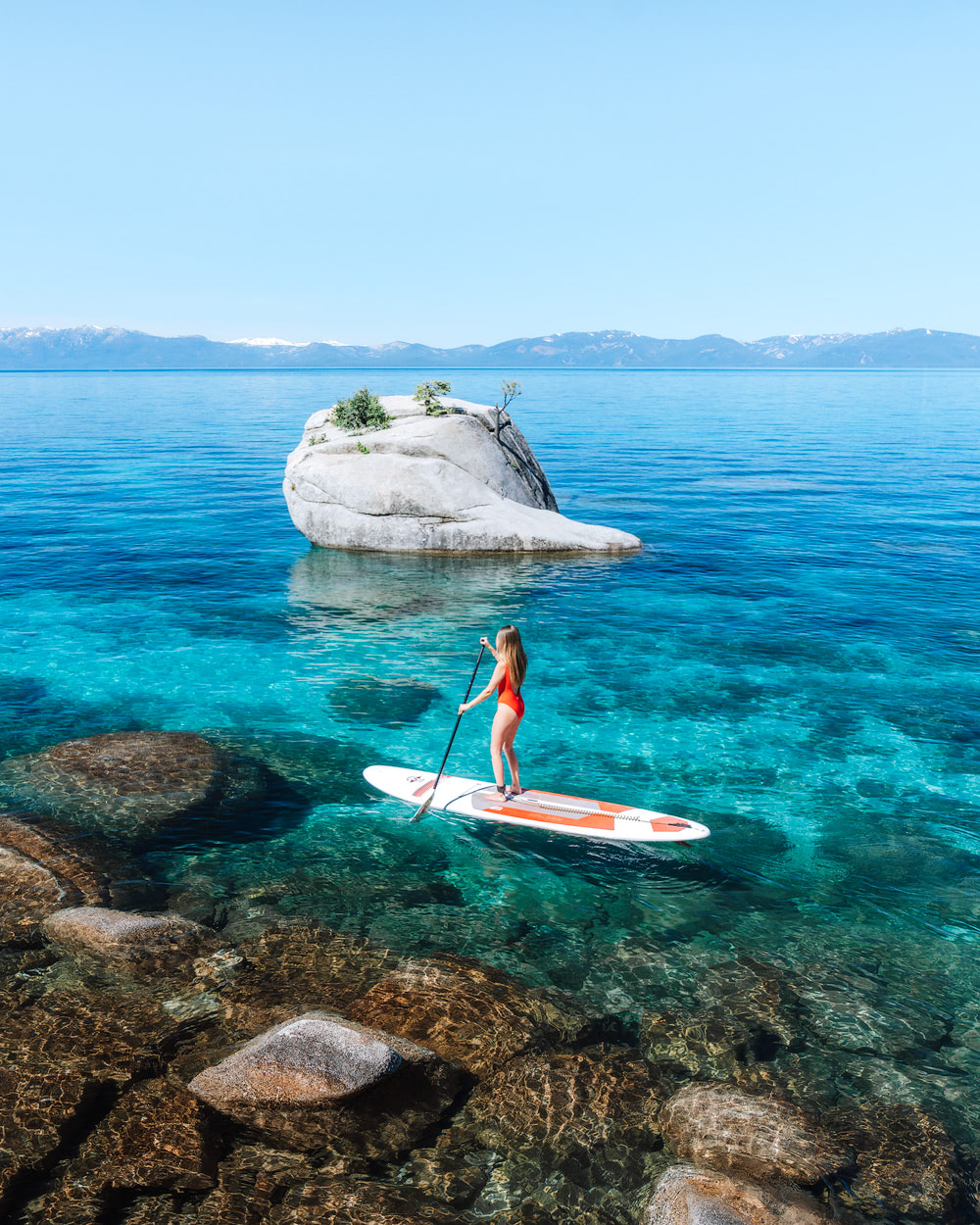 How To Travel Full Time - Must Know Tips for Affording to Travel the World - Lake Tahoe